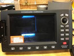 200 Standard Horizon Gps Chart Plotter Cp300i