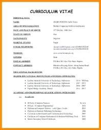Resume Template Pdf Download Airexpresscarrier Com