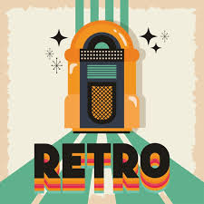 Premium Vector | <b>Retro style</b> with <b>music</b> jukebox vector illustration ...