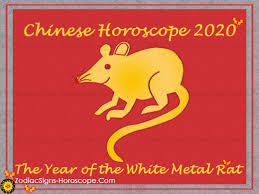 Chinese Calendar January 2020 Chinese Horoscope 2020 The Year Of The White Metal Rat