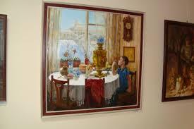 Выставка дипломных работ Самарского художественного училища в  Среди работ оказалась и дипломная работа моей жены Ольги Помогали всей семьей кто