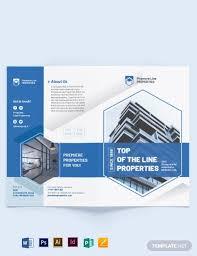Best Brochure Templates 15 Best Real Estate Property Brochure Examples Templates