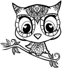Small Picture printable owl coloring pages