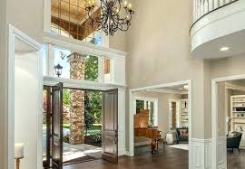 chandelier for two story foyer 2 story foyer chandelier two co how low to hang a
