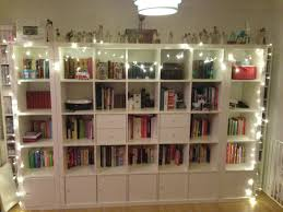 book shelf lighting led lights bookcase modern storage full foam mattress wall mounted shelves wooden wine