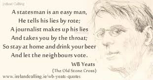 Yeats Quotes Cool WB Yeats Quotes Ireland Calling