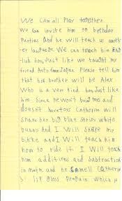 A Six Year Old S Letter To The President