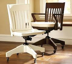 white wooden office chair. Wood Desk Chair White Wooden Office With Cushion A