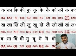 Barakhadi In English Explained In Hindi Ka Ka Ki Kee