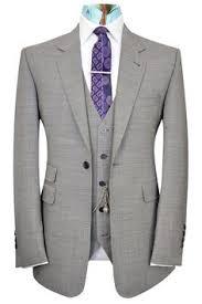 Indigo blue double plain three piece peak <b>lapel suit Mens Suit</b> ...
