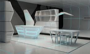 Beautiful House Interiors Futuristic Home Interior Design Kitchen - Futuristic home interior