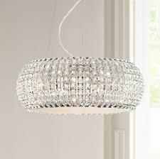 possini euro design w contour crystal chrome chandelier