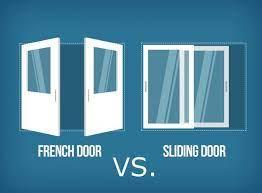 french doors versus sliding glass doors