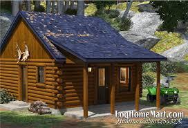 hunting cabin rendering