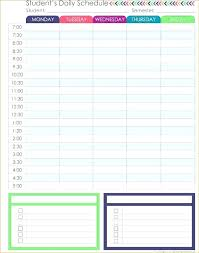 Daily Routine Maker Daily Schedule Planner Template Umbrello Co