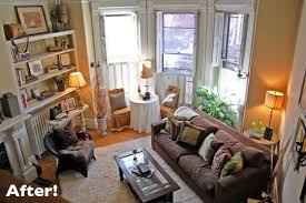 living room couch placement