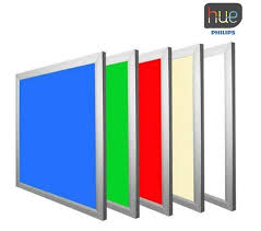 Philips Hue 48w Suspended Mulitcolor Rgbw Led Ceiling Panel