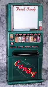 Antique Vending Machine Classy 48 Rare Vintage Candy Gum Cigarette Vending Machines RETRO Style