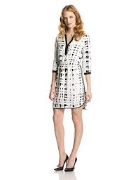Ivy Blu Womens Printed Split Neck Dress At Amazon Womens