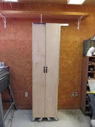 diy storage furniture. DIY Rolling Storage Cabinet Diy Furniture