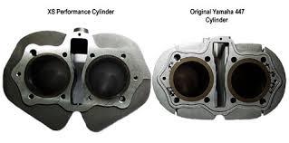 cylinder and piston kit 750cc big bore xs650