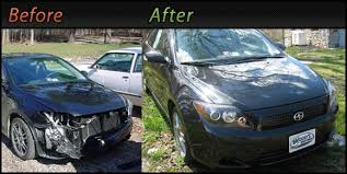 auto body repair painting. Brilliant Auto Woods Auto Body Repair  Before And After With Painting H