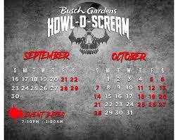 busch gardens ta puts howl o scream
