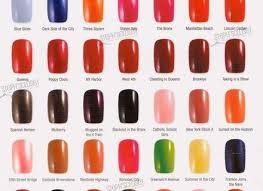 Opi Color Chart Opi Nail Colours Tepaksirehblog Com