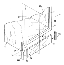 Cabinet Kick Plate Patent Us6835022 Connector For Joining Toe Kick Plate Of Cabinet