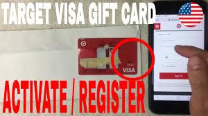 register target visa debit gift card