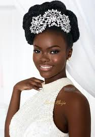 best 25 black bridal makeup ideas on pinterest lipstick for Wedding Hair And Makeup For Black Women here's some gorgeous natural hair bride inspiration by we love it! what a stunning model! hair make up assisted by photography stylist set design & model