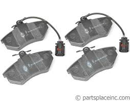 vw jetta and golf vr6 front brake pads