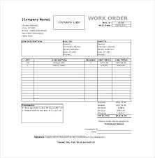 Work Order Template Pdf Repair Shop Work Order Template Auto Form