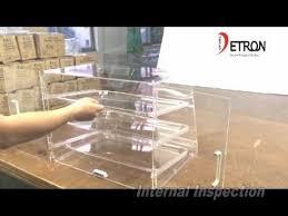 Acrylic Food Display Stands Acrylic bakery display stand YouTube 43