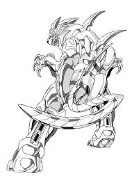 Bakugan Coloring Pages For Kids Printable