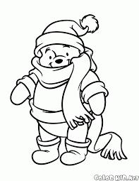Disegni Da Colorare Winnie The Pooh In Inverno