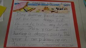 my vacation essay kids writing scholarship essays buy a how i spent my summer vacation a nostalgic essay my vacation essay kids