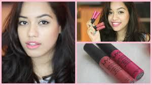 claire 39 s makeup kits. nyx soft matte lip cream vs miss claire   debasree banerjee - youtube 39 s makeup kits