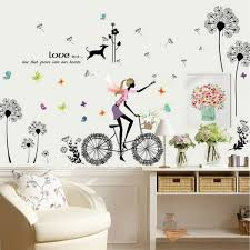 wallpaper wall stickers for girls rooms home decor loading
