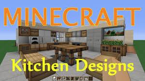 Minecraft Kitchen Minecraft Kitchen Dining Room Design Ideas Youtube