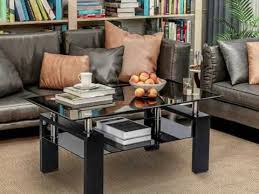 glass table ideas glass coffee table