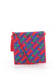 Details About Neiman Marcus Women Blue Crossbody Bag One Size
