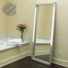 mirrors led integrated lighted vanity mirror modern interior
