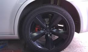 Challenger and Charger Rims on Silver 300C - Chrysler 300C Forum ...
