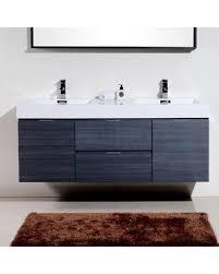 wall mounted double vanity. Simple Mounted Tenafly 59 And Wall Mounted Double Vanity L