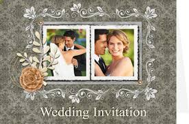 collage wedding invitations wedding card templates wedding invitations greeting box