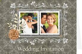 Collage Wedding Invitations Wedding Card Templates Wedding Invitations Greeting Box