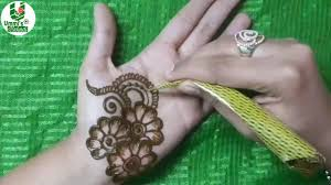 Front Hand Mehndi Design Simple New Year Mehndi Design For Front Hand Try Front Mehndi