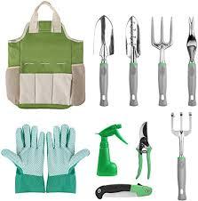 FIXKIT <b>10 PCS Gardening Tools Set</b>, Garden Hand Tools,Gardening ...