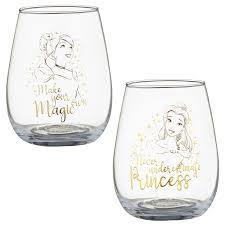 337239 disney tumbler glass set 2